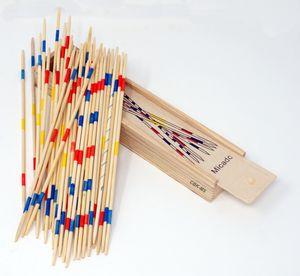 Der Spieleklassiker Mikado 19 cm Holzbox Kinder Spiel Familienspiel Geschicklichkeitsspiel