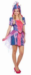 Fantasy Damen Kostüm Einhorn Elly, Größe:40