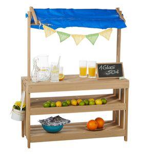 Kidland® Kinder-Kaufladen aus Holz mit Kreidetafel