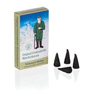 Crottendorfer - Weihrauch Melisse - 24er Packung