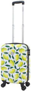 Saxoline Handgepäck Reise Koffer Trolley Lemon Zitrone 55 cm klein bei Bowatex