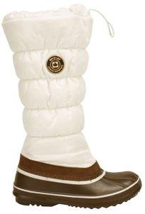 Winter-grip Damen Schneestiefel Sr Canadian Moon Braun/Weiß Winter-Schuhe, Größe:39