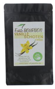 Bourbon Vanilleschoten (25 Stk. - 12-13cm) 100% natural aus Madagascar, Top Gourmet Qualität