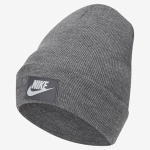Nike U Nsw Cuffed Beanie Fut Flash Charcoal Heathr -