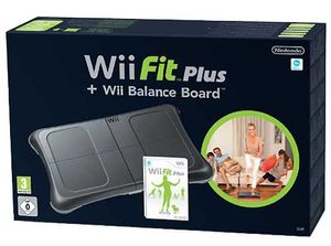 Wii Fit Plus inkl. Balance Board Black