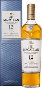 The Macallan 12 Jahre Triple Cask Matured Highland Single Malt Scotch Whisky in Geschenkpackung | 40 % vol | 0,7 l
