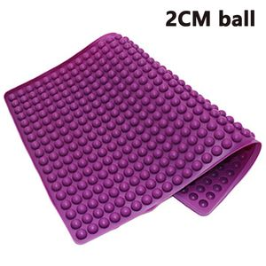 Silikon Backmatte 2cm Halbkugel Silikonmatte mit NoppenBackform für Hundekekse & Hundeleckerlies, Backpapier Backunterlage Pralinenform
