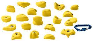 Entre Prises Kinderklettergriffe Kids, Farbe:gelb