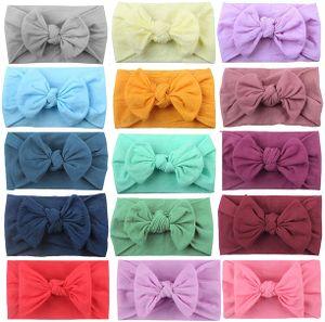 Haarbänder für Babys 15 Stück,Stirnband Elastisch Stirnbänder Haarbänder