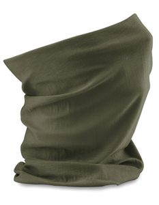Schlauchschal Morf Original / Herren Winter Schal - Farbe: Olive Green - Größe: One Size