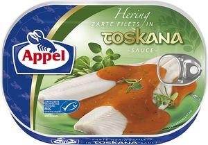 Appel Heringsfilet Zarte Filets in Sauce nach Toskana Art 200g