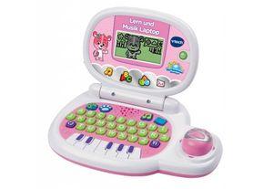 Lern und Musik Laptop pink
