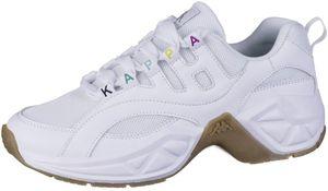 KAPPA Overton coole Damen Mesh Sneakers white, Meshfutter, herausnehmbare Decksohle