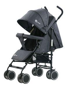 Buggy Balu Kinderbuggy Kinderwagen Kindersportwagen Baby Sport Clamaro, Farbe Buggy:Leinen Anthrazit