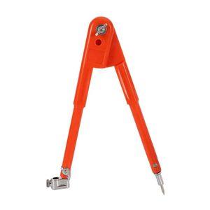 Mllaid Holzbearbeitung Zirkel Zeichenzirkel für Schreiner mit Flügel Bleistifthalter Bleistift für Geometrie Zeichnung Zeichnung Orange