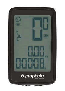 Prophete 0519 Funk-Fahrrad-Computer mit 14 Funktionen