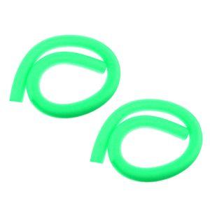 2 Stück Umweltfreundlich Schwimmnudel Poolnudel Schwimmen Hilfe Wassernudel Grün 6 x 150 cm