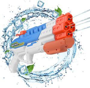 Wasserpistole Spielzeug, Schießt bis zu 8-10 m weit, für Kinder und Erwachsene, für Sommerpartys im Freien, Außenpool, Garten und Strand, 1,15 Liter Wassertank