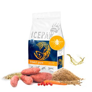 ICEPAW Insect pure Trockenfutter 15kg