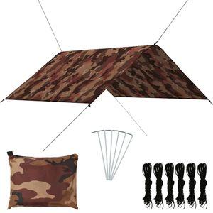 vidaXL Outdoor Tarp 3x2,85 m Camouflage