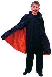 Dracula Umhang Vampir Halloween Kinder Karneval Fasching Kostüm 116