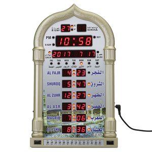 Azan Gebetsuhr Muslim Wanduhr Moschee Uhr Ezan Islam Saati mit Fernbedienung