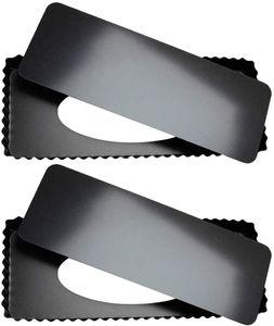 2Stück Rechteckige Tarteform 36 X 15 X 3 cm mit Antihaftbeschichtung und Optimale Wärmeleitung, Quicheform mit Hebeboden Wellenrand