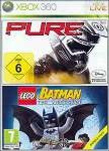 XB360  Holiday Upgrade Kit 2 Games Pure + Lego Batman