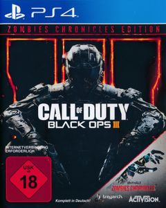 Call of Duty 12 - Black Ops 3 + Zombies Chronicles Edition - Konsole PS4