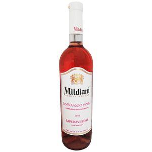 Mildiani Rosewein Saperavi Rose 0,75L georgischer Wein halbtrocken semi dry wine