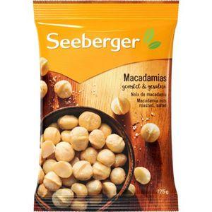 Seeberger Macadamia geröstet gesalzen 125g