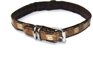 """Heim Halsband """"Wildlife"""", 14mm breit / 30cm lang, braun, 1911300"""