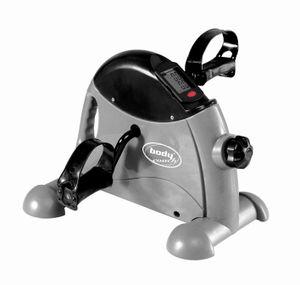 Mini-Bike Heimtrainer kompakter Pedaltrainer für Arm- und Beintraining mit Tragegriff