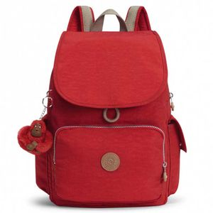 Kipling City Pack True Red C One Size