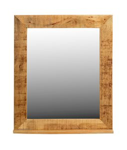 SIT Möbel Wand-Spiegel | Mangoholz lackiert | natur antik | B 67 x T 12 x H 80 cm | 01990-04 | Serie RUSTIC