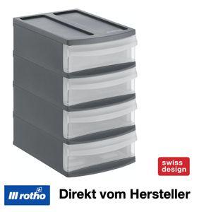 Schubladenbox Tower XS SYSTEMIX, Farbe:Anthrazit