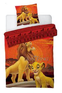 Disney bettbezug Lion King 140 x 200 cm Polyester orange