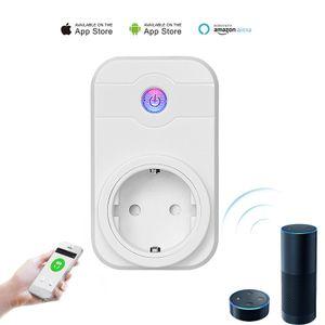 Wifi Steckdose kompatibel mit Amazon Alexa WLAN Smart Home intelligente Funksteckdose