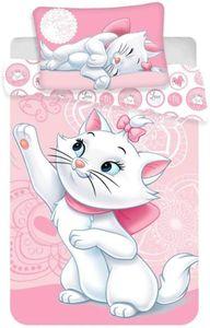 Disney Baby Kinder Bettwäsche Aristocats Marie rosa 135x100 60x40