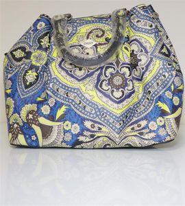 Oilily Damen Orient Handbag Svf Henkeltasche Blau (blue)