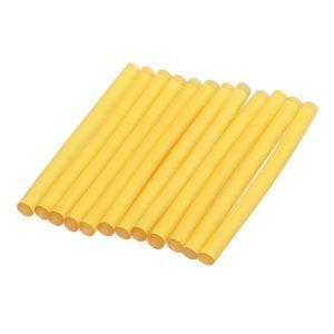 Klebestifte für Heißklebepistolen Klebesticks. Menge: 4 Stück Farbe Gelb