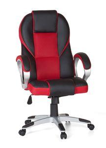 Bürostuhl RACE Rot Gaming Chefsessel Racer Drehstuhl 120kg