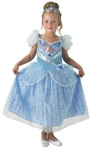 Cinderella Schimmer Kostüm, Kind, Größe:L