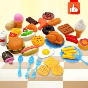 34 Lebensmittel Set Kinderküche Spielküche Zubehör Kaufladen n