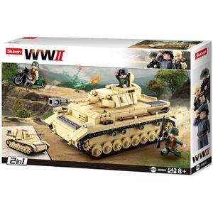 Building Blocks WWII Serie Panzer IV German Tank