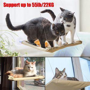 Fenster-Mounted Pet Cat Hängematte Bett warm weiche große hängende Bett Pet Häng