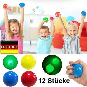 Melario 12 Stücke Sticky Globbles Balls Stress Spielzeug Sticky Wall Balls Dekompression