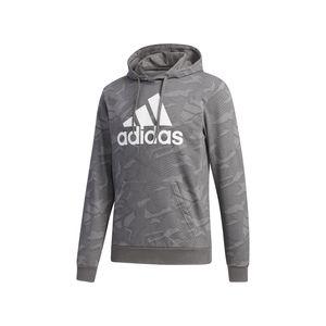 adidas M E AOP HDY MGSOGR/WHITE MGSOGR/WHITE L