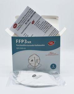 DEUTSCHER FACHHÄNDLER - 10x FFP3 mit Ventil Atemschutzmasken, CE 0370, EU Konform Mundschutz, Schutzmaske, Gesichtsmaske, Schutzmaske, FFP3 Masken mit Ventil|   Maske Atemschutzmaske | und aus Deutschland versendet - 10 Stück (Einzeln verpackt)