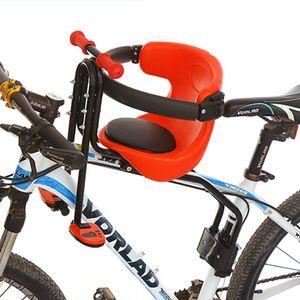 Kindersitz Fahrrad Vorne, Abnehmbar Fahrrad-Vordersitz mit Pedal Griff und Leitplanke, Kindersitz Fahrradsitz für MTB Rennrad